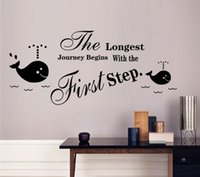 abstract art inspiration - Inspiration Wall Quote Decal Sticker Art Mural Poster Decor The longest journey begins with the first step English Letter Room Art Decor