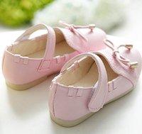Wholesale Children s leather shoes girls white party autumn flower princess boat school single non slip shoes xw02620b