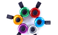 Wholesale Free DHL new Bicycle Bell Horn Bike Metal Ring Bike Bell Sound Road Mountain Bike Handlebar Horn Cycling Alarm Bell City Bicycle Accessories