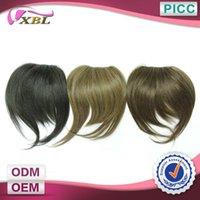 Wholesale Human Hair Fringe Large Stock Real Human Hair Three Color Straight Hair Fringe