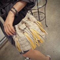 fringe bags - New Cute Shoulder Bags Crochet Tassel Women Bags Ladies Casual PU Leather Fringe Satchel Crossbody Messenger Shoulder Bag Bolsa Feminina