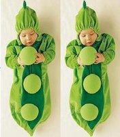 bean bags sale - Hot sale Fleece Baby Cute cartoon Sleeping Bags baby Blankets with single layer design style Green Beans banana caterpillar
