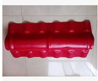 Wholesale Factory direct sale synthetic resin is ridge tile oblique ridge tile mm wide