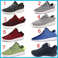 red plaid fabric - Quality Yeezy Boost Pirate Black Sport Shoes moonrock Running Shoes turtle dove Low Shoes With Box Sports Shoes