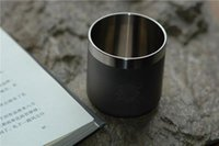 Wholesale Titanium Ti GR2 Coffee Tea Milk Cup Illusion Mug ml g pc