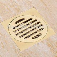 Wholesale High quality Solid Brass Drain Strainer Bathroom Floor Drain Shower Grate Waste