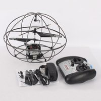 Wholesale 777 Channel UFO Style Helicopter Mode Controlled by Left Hand Black57466 ST