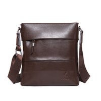 Wholesale 2015 New Leather Men s Fashion Shoulder Bag Backpack Leisure And Business Fine PU Leather Bag