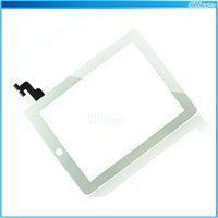 replacement touch screen panel - 100PCS For iPad Ipad ipad Touch Screen with Digitizer Assembly Touch Panel Fornt Glass Lens Replacement Part for iPad DHL