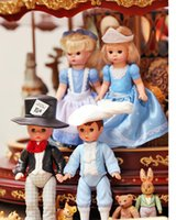childrens toys and gifts - 2015 Retro Cinderella and Prince Charming Blink Dolls Cartoon PVC Action Figure Toys dolls cute gift for childrens