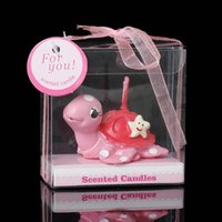 animal shaped candle - Candles Tortoise Shape Animal Pink Starfish Pattern cm x cm new