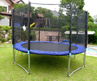 Wholesale GSD trampoline with CE GS certification Round Trampoline Cheap trampolin for sale