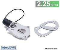 Wholesale TANSKY quot Performance Electric Exhaust Cutout Valve Remote Control Motor Kit TK BTCUT225 Have In Stock