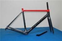 Wholesale R5 Frame black red carbon framset r5 t1000 Carbon road bike frame UD weave bicycle Frame Sell dimple mavic FFWD wheels