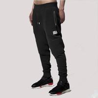 athletic cargo pants - 1601 Men Jogger Pants Black Skinny Biker Joggers Casual Elastic Cuff Track Mens Trousers Athletic Sweatpants Harem Sweat Pant Hip Hop