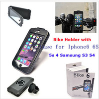 best handlebar bag - Best Bike6 Bicycle Motorcycle Scooter Handlebar Mount Holder ABS Protective Case for iPhone6 iPhone6 Plus Waterproof Bag Cover