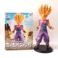 Wholesale New cm PVC Anime Dragon Ball Z Action Figures Master Stars Piece The Son Gohan Super Saiyan dragonball z figurine children toy