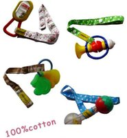 sippy cups - 2015 Lemommom stroller toys Bind belt Baby toys Strollers Accessories Sophie pure cotton Lemommom Toy Saver Sippy Cup Baby Bottle Strap