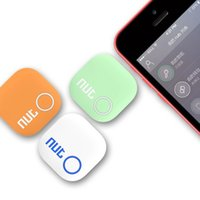 Wholesale SS New Design Nut Smart Finder Bluetooth Tracking Tracker Bag Key Finder Locator Alarm for iphone Android Colors