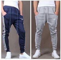 Cheap Outdoors Cargo Loose Trousers Men Sweat Harem Sport Joggers Pants Hip Hop Slim Fit Sweatpants for Dance Sports Pants BZ850794