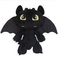 Wholesale HOW TO TRAIN YOUR DRAGON MINI PLUSH Toothless Night Fury Stuffed Animal Toy Doll Black Anime Comics Cheap vgn7i