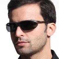 Wholesale Authentic fishing men cool Sunglasses Polarized Sunglasses rimless sunglasses JC motor drive