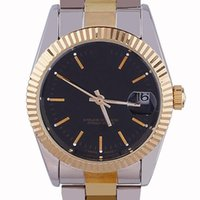 Wholesale Cool Fashion Wristwatches G Round Dial Stainless Steel Bracelet Date Display Automatic Mechanical Men Watch Original Logo