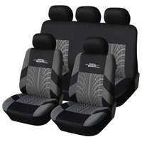 Wholesale AUTOYOUTH Brand Embroidery Car Seat Cover Set Universal Fit Most Cars Covers with Tire Track Detail Styling Car Seat Protector order lt no t