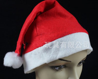 Wholesale New Christmas Decoration hats High grade Christmas hat Santa Claus hat Cute adults Christmas Cosplay Hats