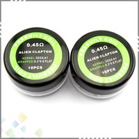 aliens pc - Prebuilt Alien Coil Resistance ohm GA Resistance Wire Alien Wire Electronic Cigarette Sold by PC DHL Free