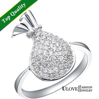 artificial diamond jewellery - Latest Jewellery Designs Wedding Rings Sterling Silver Artificial Diamond Ring Fashion Jewelry Womens Accessories Ulove J089