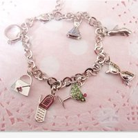 americans with disabilities - European and American trade lovely personality gem diamond chain delicate limbs of boys and girls with disabilities Korean fashion