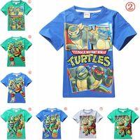 teenage fashion - Teenage Mutant Ninja Turtles Kids T shirt Boys T shirt Baby Tops Summer Clothes Children Tee Cotton Tshirt Cartoon Tshirt Styles