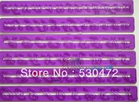 abs moulds - retail Fondant Cake Tools purple letters numbers batten lace batten mold hollow printing mould ABS