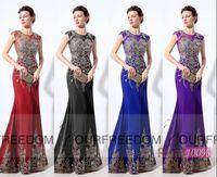 autumn royal grapes - Saudi Arabic Purple Long Evening Dresses Custom Made LX039 Jewel Neck Golden Appliques Beaded Sheath Floor Length Formal Occasion Dress