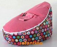 Wholesale Babybooper Bean Bag Pink Top Rainbow Burst