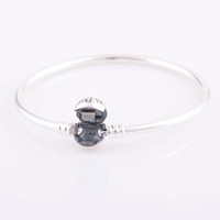 Wholesale Sterling Silver Bangles made of solid sterling silver fashion style Bangle bracelets YSZ001