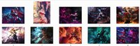 Wholesale 150x200cm hot game League of Legends anime characters Ahri irelia bed sheet LOL Sona blanket Duvet Cover