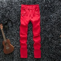 Wholesale 2014 New style Men and women fashion jeans cotton jeans coating geometry locomotive stretch jeans