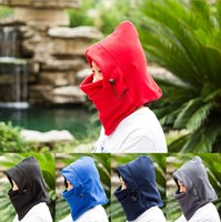 Wholesale Ski Winter Hat Full Face Nodding By Bicycle Snowboard Sport CS Mask Caps Fashion Hooded Scarfs Thickening Multifu g g g