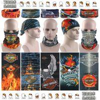 bicycle bandana - Harley bandana Cycling Bicycle Variety Turban Magic Headband Multi Mask Head Scarf Scarves Face Mesh Bandanas M161