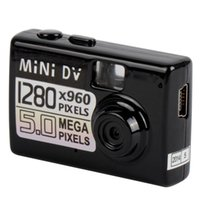 spy camera - New Design Digital Video Camera Smallest Mini DV With Powerful Functions Mini Spy Camcorder Supports Micro SD Card A0071