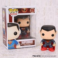 age pop - FUNKO POP Heroes Superman PVC Action Figure Collection Toy Doll CM FKFG145