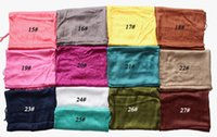 Wholesale Newest HOT Scarfs for women Lady Mixed Candy Colour Pick fashion Long Scarf Shawl Wrap LB12