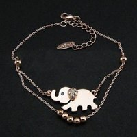 Cheap 1Pcs Sexy Barefoot Sandal Elephant Charm Anklet Bracelet Foot Ankle Chain Jewelry