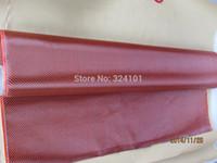 aramid cloth - Carbon K Aramid D Fiber Twill Woven Hybrid Fabric g m2 ORANGE Yarn Weave Cloth for Car Parts Canoe Kayak Snowboard