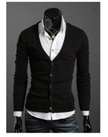 best sweaters for men - Best Mens Sweaters Mens Apparel Clothing Jacket Outerwear Coats Mens Casual Dress Button colors for men long sleeve V neck cardigan sweater