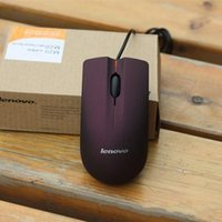 Wholesale Lenovo mouse USB Optical Mouse Mini D Wired Gaming Mice With Retail Box For Computer Laptop Notebook Game Lenovo M20