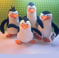 arm puppets - 4pcs Penguin doll set of penguin Madagascar Penguins Spy In The Huddle Plush Toy With Movable Arms Minion Toy