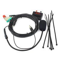 icom walkie talkie - Walkie talkie vehicle Hands free Microphone for ICOM IC2200H IC2720 IC2820 Car Sets core Crystal Head J0353A